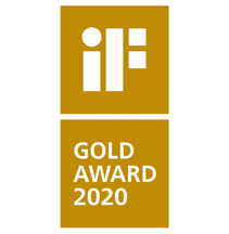 iF product design GOLD award 2020