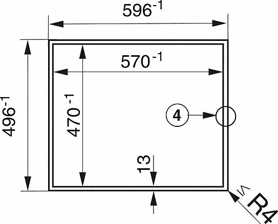 Einbauskizzen-mit Direktanwahl inklusive Timerfunktion für grösstmöglichen Bedienkomfort.-