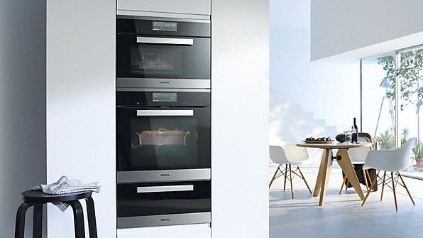 miele backen und dampfgaren. Black Bedroom Furniture Sets. Home Design Ideas