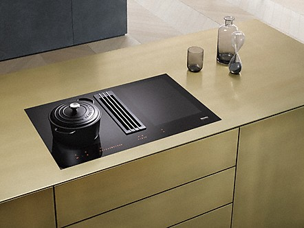 miele plans de cuisson induction avec a rateur de table. Black Bedroom Furniture Sets. Home Design Ideas