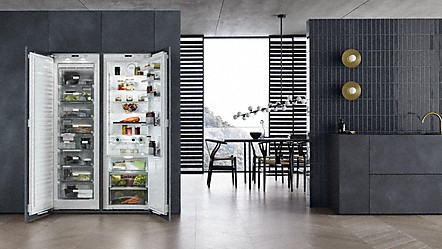Side By Side Kühlschrank Einräumen : Miele einbau und freistehende kühlschränke von miele