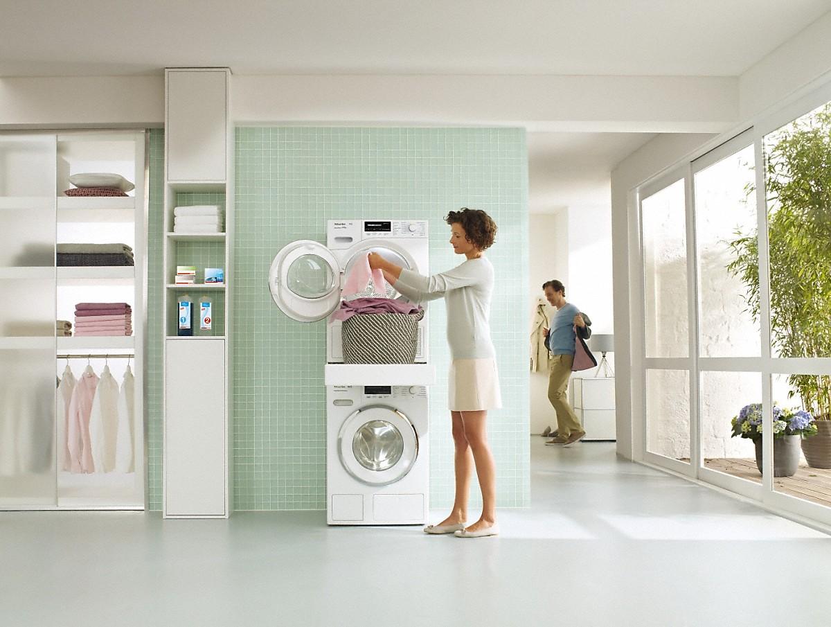 miele wtv 512 wasch trocken verbindungssatz. Black Bedroom Furniture Sets. Home Design Ideas