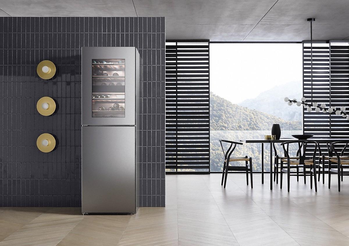 miele kwns 28462 e stand k hl gefrierkombination. Black Bedroom Furniture Sets. Home Design Ideas